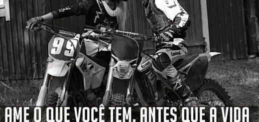 Imagens de moto com frases