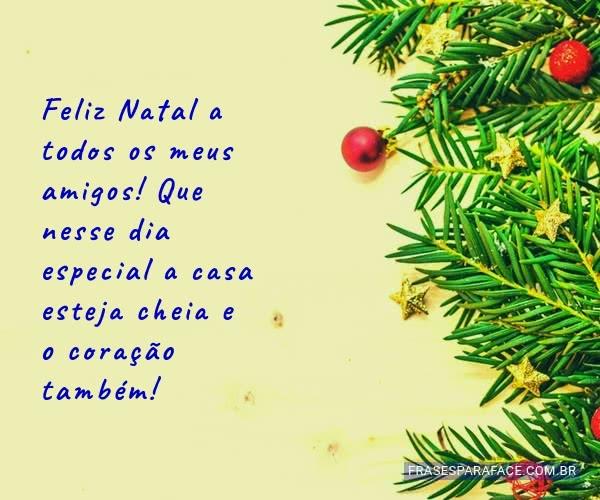 Mensagens de feliz natal 2018 em imagens