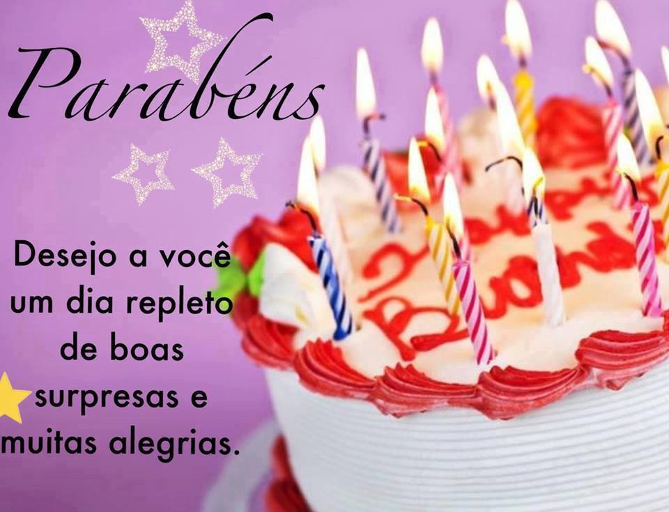 Mensagens de feliz aniversário em imagens lindas