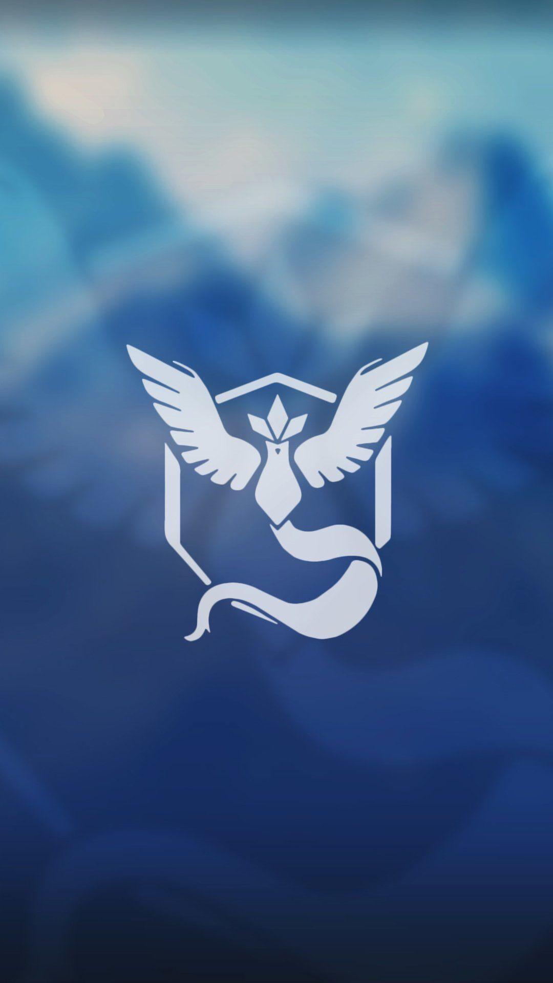Wallpaper HD para celular Pokémon Go Team Mystic