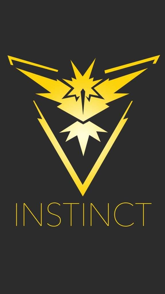 Wallpaper para celular de Pokémon Go Team Instinct