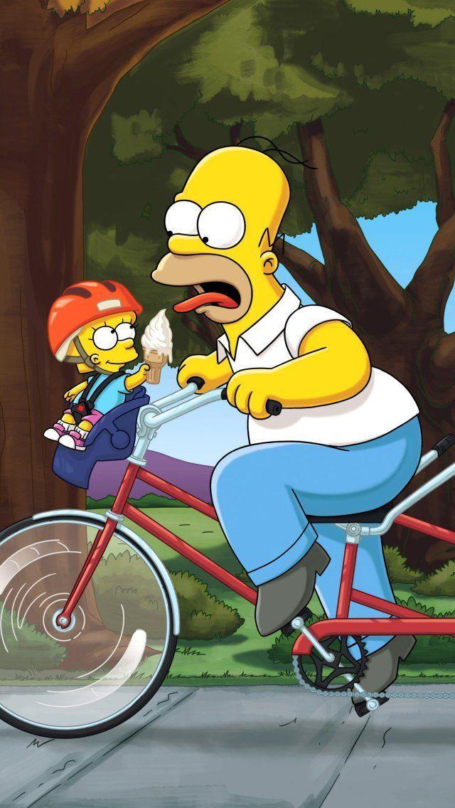 Wallpaper para celular dos Simpsons em HD