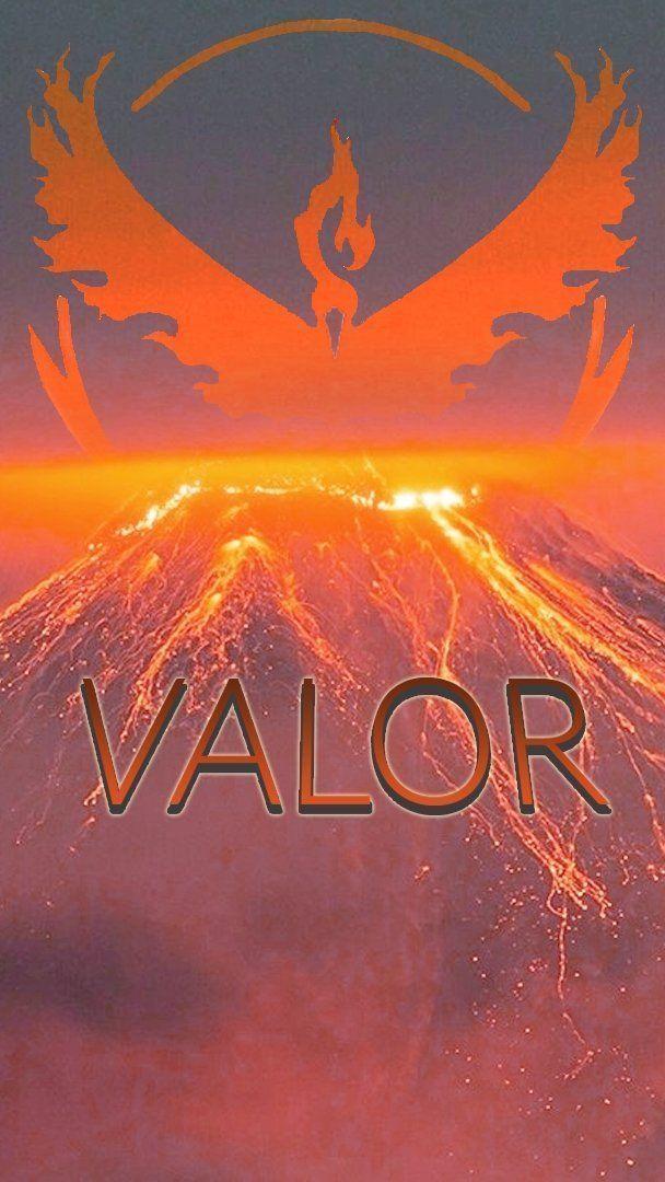 Wallpaper para celular em HD Pokémon Go Team Valor